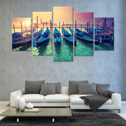 THE VENICE 5 PANEL CANVAS