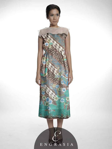 dress batik engrasia