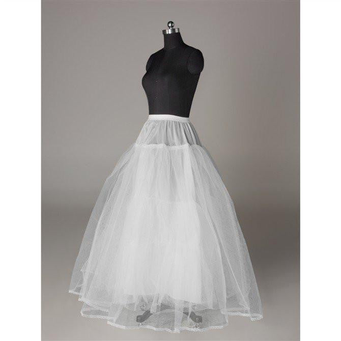 Fashion Ball Gown Wedding Petticoat Accessories White Floor Length OKP10