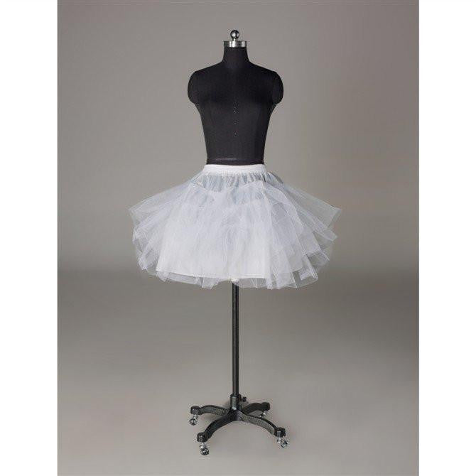 Fashion Short Wedding Dress Petticoat Accessories White OKP11