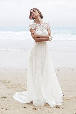 Elegant Wedding Dress,Lace Wedding Dresses,Chiffon Wedding Dress,Lace Wedding Dresses,Beach Wedding Dress,Coast Wedding Dresses,Sexy Wedding Dresses,Ivory Wedding Gown,Long Wedding Dress,Lace Bridal Dresses