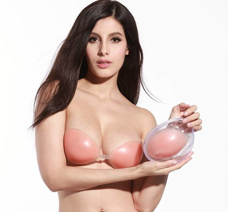 Free Shipping Silicone 3/4 Cup Strapless Extreme Lift Wedding Party Bra