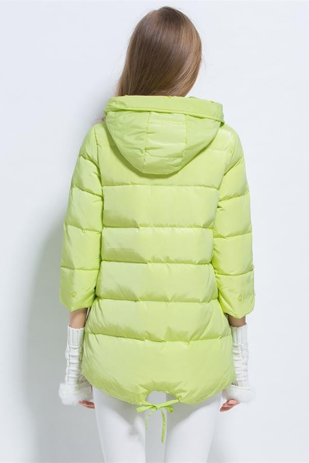 New Design Korea Style Mantle Type Women Winter Down Coat D1
