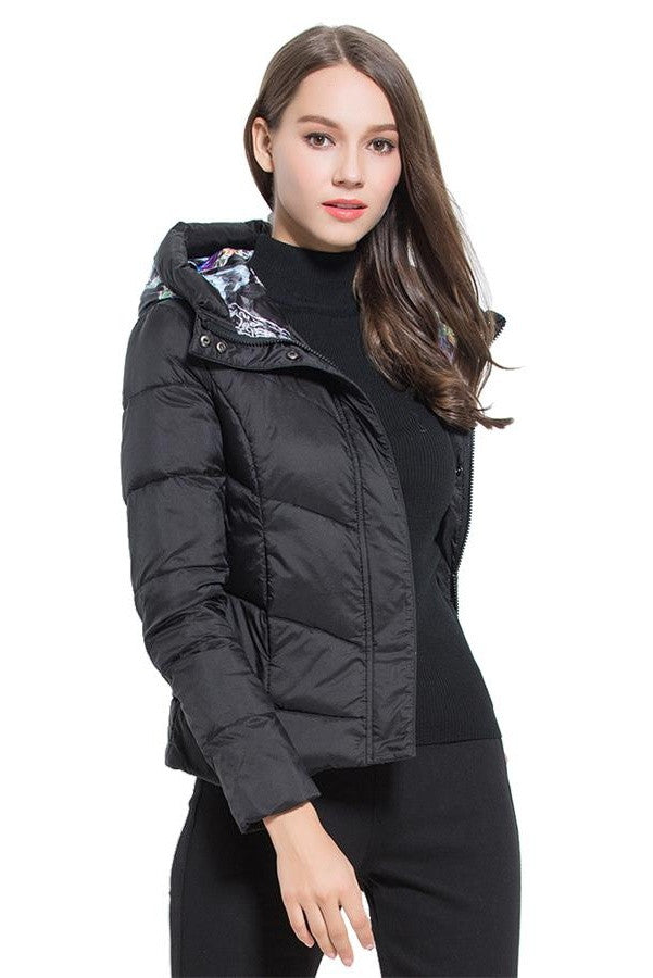 2016 Winter Coat Short Style Women's Fashion Down Jackets D2