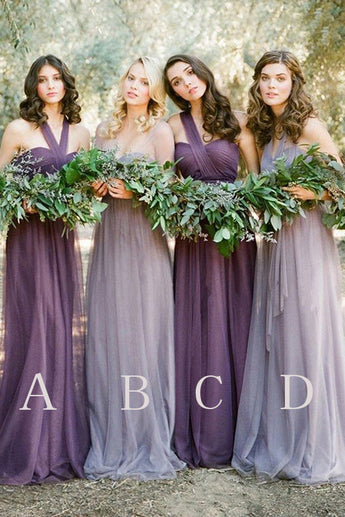 Fashion Bridesmaid Dresses,Tulle Bridesmaid Dresses,Long Bridesmaid Dress,Cheap Bridesmaid Dresses,Charming Bridesmaid Dresses,Wedding Party Dresses