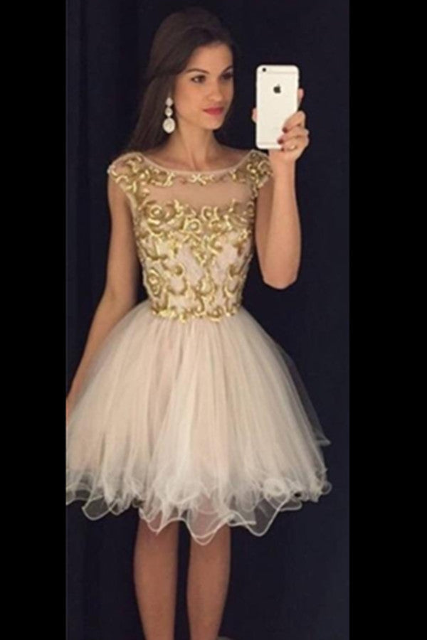 Gorgeous Short Pretty Handmade Homecoming Dresses For Teens K194