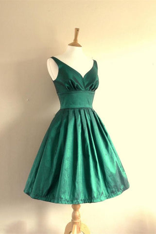 Pretty Green Homecoming Dresses with Straps