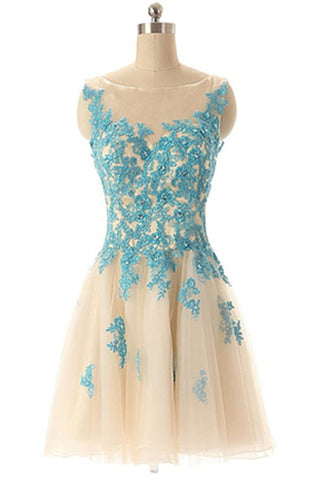 Hot Sale Lace Tulle Handmade Classy Cute Homecoming Dresses K349