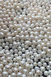 Beautiful AAAA 14-15mm White Water Drop Freshwater Loose Pearl P32