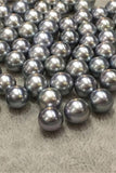 Beautiful Elegant  AAA 8-11mm Tahitian Grey Color Loose Pearl P40