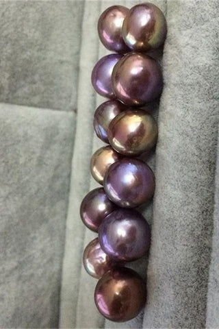 Big Pretty AA 11-12 mm Lavender Baroque Loose Pearl P41