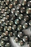 AAA 11-12mm Tahitian Gorgeous Black Color Loose Pearl P45
