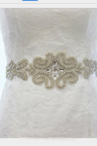 Shinny Diamond Bridal Belt Wedding Accessories BS4