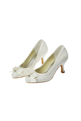 Ivory Lace Wedding Shoes 80d6cf4e04cd
