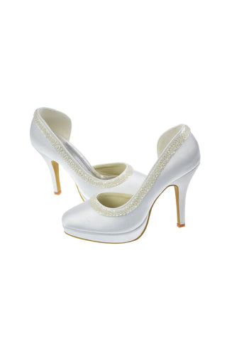 Free Shipping Handmade High Heel Cheap Wedding Prom Shoes S2