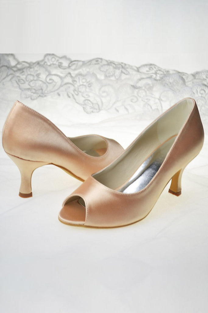 Sparkly Handmade Peep Toe Comfortable Women Shoes S51