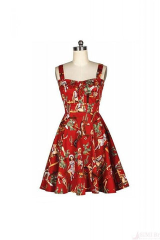 Beautiful Patterns Elegant Backless Short Vintage Dresses For Girls V2