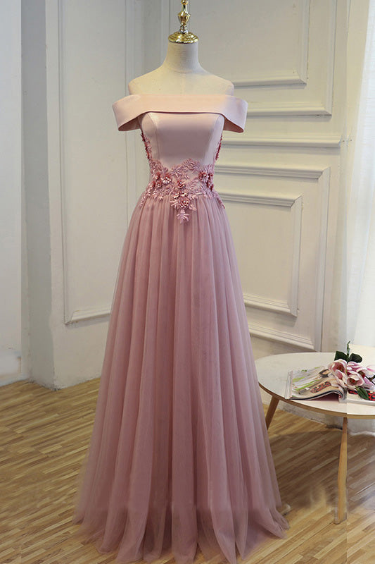 Cheap Pink Long Party Evening Dress 2017 Lace Up Women Formal Prom Gown OK140