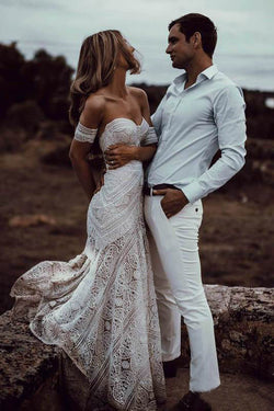 e5b049e899 Boho Wedding Dress | Wedding Dresses Cheap | Simple Wedding Dresses ...