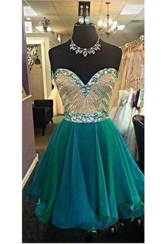 Gorgeous Homecoming Dresses,Chiffon Homecoming Dresses,Sweetheart Homecoming Dresses, A Line Homecoming Dresses,Beading Homecoming Dresses,Juniors Homecoming Dresses,Cheap Homecoming Dresses