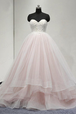 Long Prom Dress,Sweetheart Prom Dresses,Charming Evening Dress,Affordable Prom Dresses,Pearl Pink Prom Gown,Ball Gown Prom Dresses