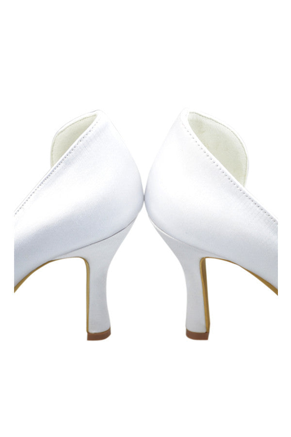 Classy White Close Top Handmade Nice Part Shoes S82