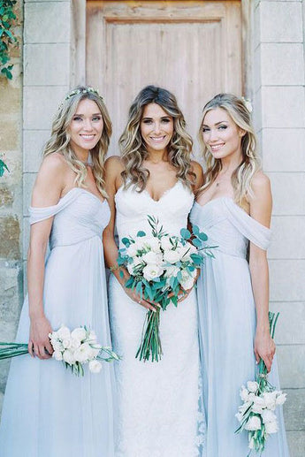 Beautiful Bridesmaid Dresses,Chiffon Bridesmaid Dress.Light Blue Bridesmaid Dresses,Sexy Bridesmaid Dress,A Line Bridesmaid Gown,Long Bridesmaid Dresses,Cheap Bridesmaid Dresses