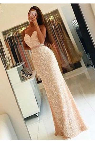 Long Prom Dress,Spaghetii Straps Prom Dresses,Sheath Prom Dress,Sequin Prom Dresses,Criss Cross Prom Gown,Long Prom Dresses