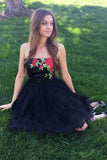 Black Lace Homecoming Dresses