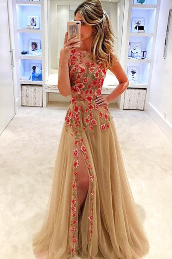Sexy Mermaid Two-Piece V-Neck Blue Long Prom/Evening Dress 2017 OK125