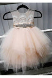 Cute Flower Girl Dress,Tulle Flower Girl Dresses,Flower Girl Dresses With Lace