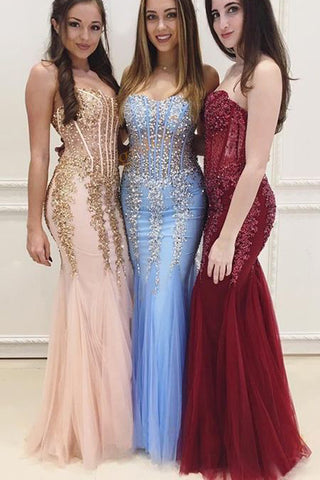 Mermaid Prom dresses,Sexy Party Dresses,Long Evening Dresses,Cheap Prom Dresses,Sweetheart Prom Dress,See Through Prom Dress