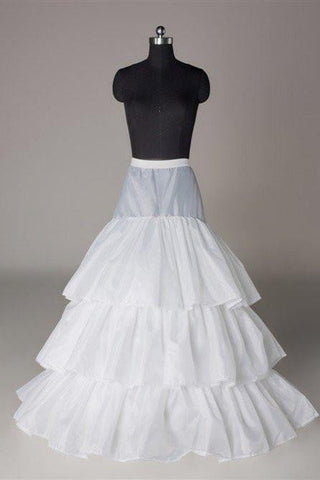 Fashion Wedding Petticoat Accessories Layers White Floor Length OKP14