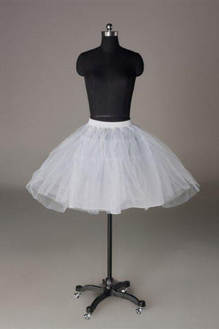 Fashion Short Wedding Dress Petticoat Accessories White OKP13