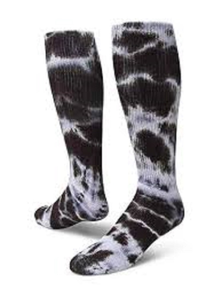 Red Lion Revolution Tie Dye Knee Hi Socks