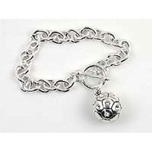 Soccer Ball Toggle Bracelet - Unique Sports Accessories