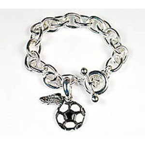 Exclusive Soccer Toggle Bracelet - Unique Sports Accessories
