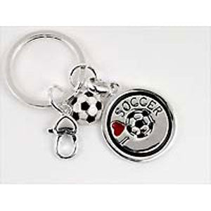 Soccer Ball & Cleat Keychain - Unique Sports Accessories
