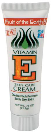 Fruit Of The Earth Vitamin E Cream Tube .75oz