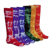 Red Lion Tie Dyed Knee Hi Socks - Unique Sports Accessories - 1