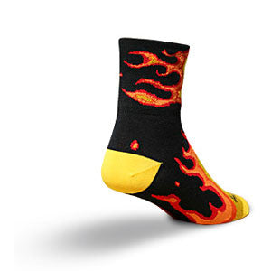 SockGuy Fireball Socks - Unique Sports Accessories