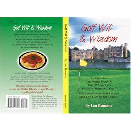 Golf Wit & Wisdom Golf Book - Unique Sports Accessories