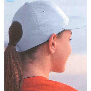 Yupoong Flexfit 6 Ponytail Holder Cap A6277 - Unique Sports Accessories
