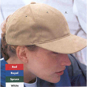 Yupoong 6363 Low Profile Brushed Cotton Cap with Velcro Back - Unique Sports Accessories - 1