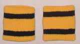Sports Wristbands Pair Striped 3 Inch - Unique Sports Accessories - 45