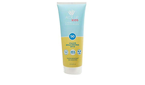 Aloe Up Kids Sport Sunscreen SPF 50 6oz Lotion