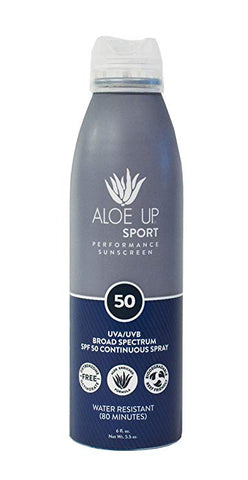 Aloe Up Continuous Spray SPF50 6oz.