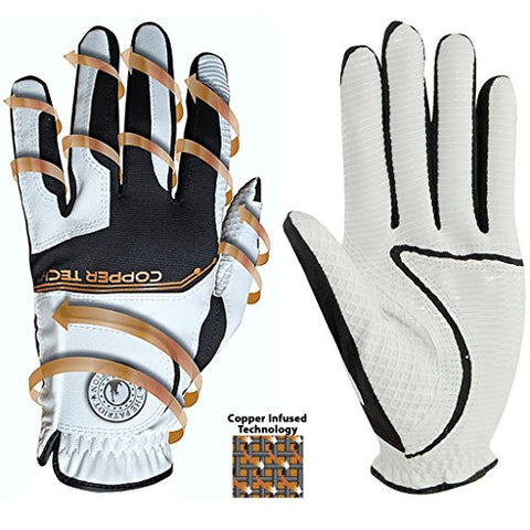 Lady Classic Copper Tech Form Fit Glove with Ballmarker - Unique Sports Accessories