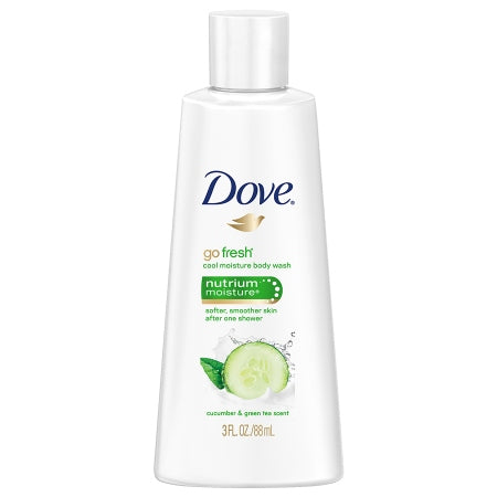 Dove Go Fresh Cool Moisture Body Wash Cucumber & Green Tea 3.0 fl oz