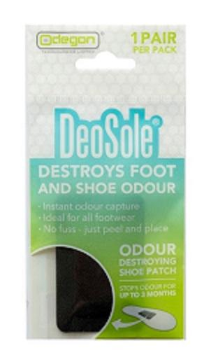 DeoSole - Foot and Shoe Deodorant for Athletes